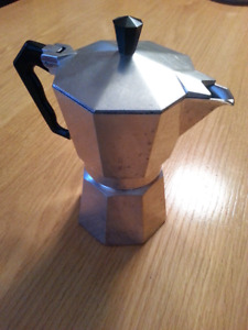 Marimba stove top expresso maker made in Italy