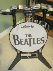 Wii Beatles Rock Band Set Limited Edition