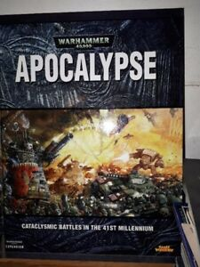 Warhammer fantasy and 40k codex and rule books