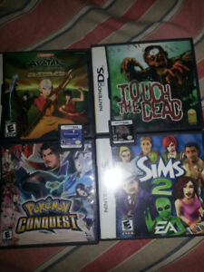 **DS GAMES** POKEMON CONQUEST AND MORE....
