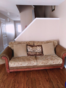 Comfortable couch. Need gone ASAP!