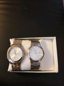 Seiko and titan watches