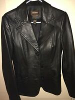 Danier Italian leather made in Canada  3xS fits like small