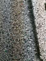 1 sq ft Carpet installation, includes high density under pad