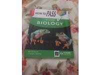 How to pass higher biology book