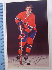 ANCIENNE CARTE PRO STAR PROMOTION RÉJEAN HOULE #14  NHL