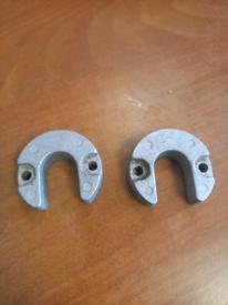 Mercruiser Alfa one , powertrim rams anodes x pair