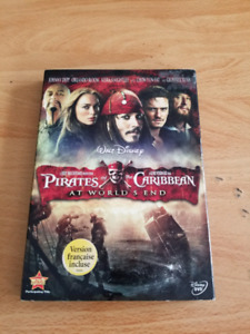 Pirates of the Caribbean. At worlds end dvd