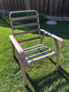 lawn chairs - set of 4