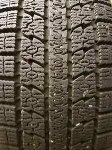 2 TOYO STUDLESS WINTER TIRES