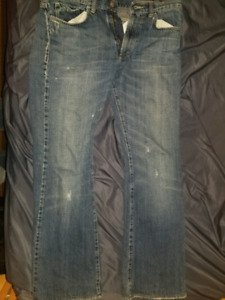 Authentic mens versace Jean's size 34