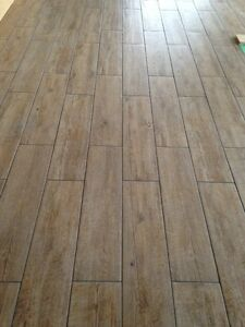 Italian Porcelain tile flooring- ~130 sq ft - REDUCED