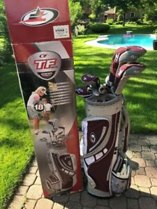 Ladies TF Intertia golf club set for sale, only used once.