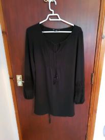 Black Dress F&F Size 10