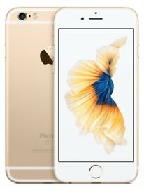 L@@K iPhone 6 s gold unlocked in box