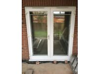 Patio Doors fitted with 'Perfect Fit Blinds'
