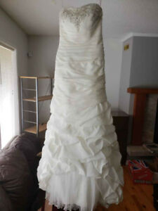 Wedding Dress and Reception Dress