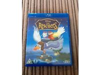 Disney the rescuers blu Ray film