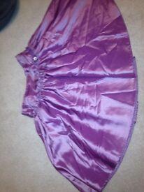 Plum skirt Age 10/12