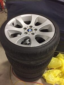 """Bmw 18"""" staggered rims"""