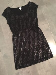 Dynamite sequinned dress