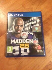 NFL Madden 25 - PS4 - American Football