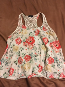 Floral Tank Top For Sale!