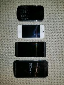 Samsung S5 Active, Blackberry 9900 Bold, Blackberry Z10
