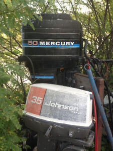 20+ USED OUTBOARDS RUNNING AND PARTS , KENORA