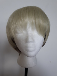 Synthetic Short Blonde With Brown Undercut Wig