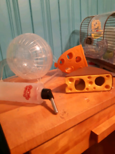 Accessoires cage hamster