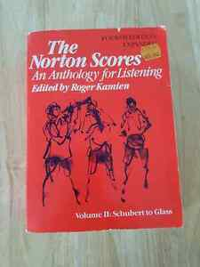 Norton Scores and Anthology of Western Music