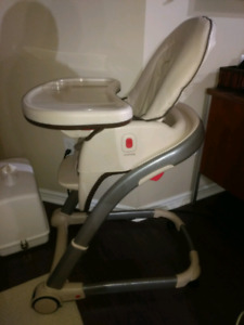 Graco 4 in 1 high chair and boaster seat