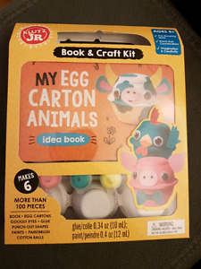 My Egg Carton Animals (Klutz Jr Book)