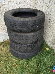 4 pneus d'ete 195/65/R15