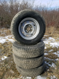 225 70 R15 set of 4 tires