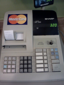 SHARP ER-A320 Electronic Cash Register for sale.