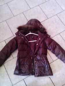 Girls size 12 Gap downfilled coat