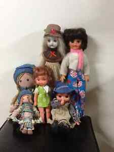 Collection of Seven Dolls