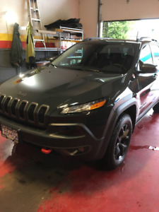 2018 Cherokee Trailhawk leather plus  (8197 km)