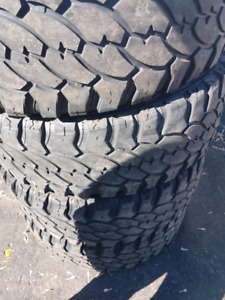 TRUCK TIRES 32'S...35'S... 37'S...SETS!! Also 20's
