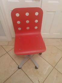 Ikea wooden adjustable chair