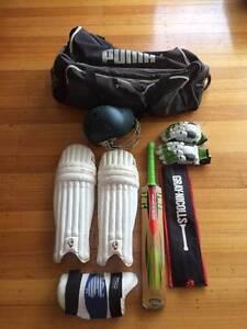 Cricket Gear Full Set plus Bag Taroona Kingborough Area Preview