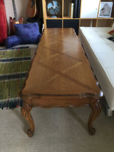 Lowered Price from 200$-100$ Coffee Table Antique Solid Wood