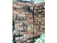 500 + solid bricks used but in good condition