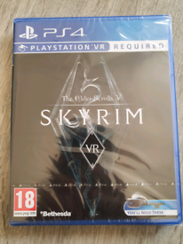 Skyrim PS4 VR