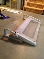 Adjustable height Bed side rail