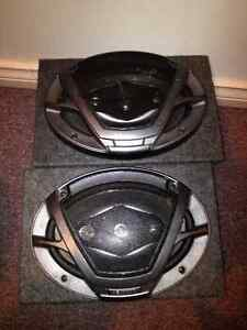 2 kenwood 6x9 s in box- paid $60 for boxs alone -
