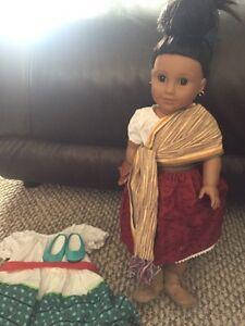 American girl doll just like you, like new