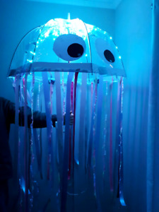 Home made Jelly fish costume